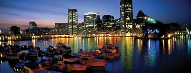 Maryland - Baltimore's Inner Harbor - See America - Visit USA Travel Guide