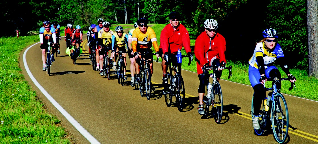 Cycling Natchez Trace Park in Mississippi