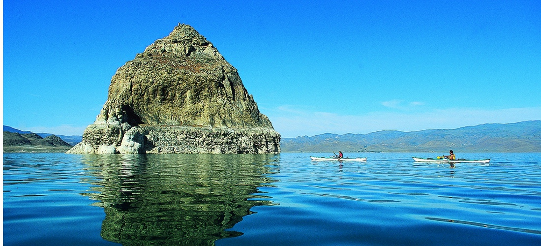 Kayaking lakes in Nevada