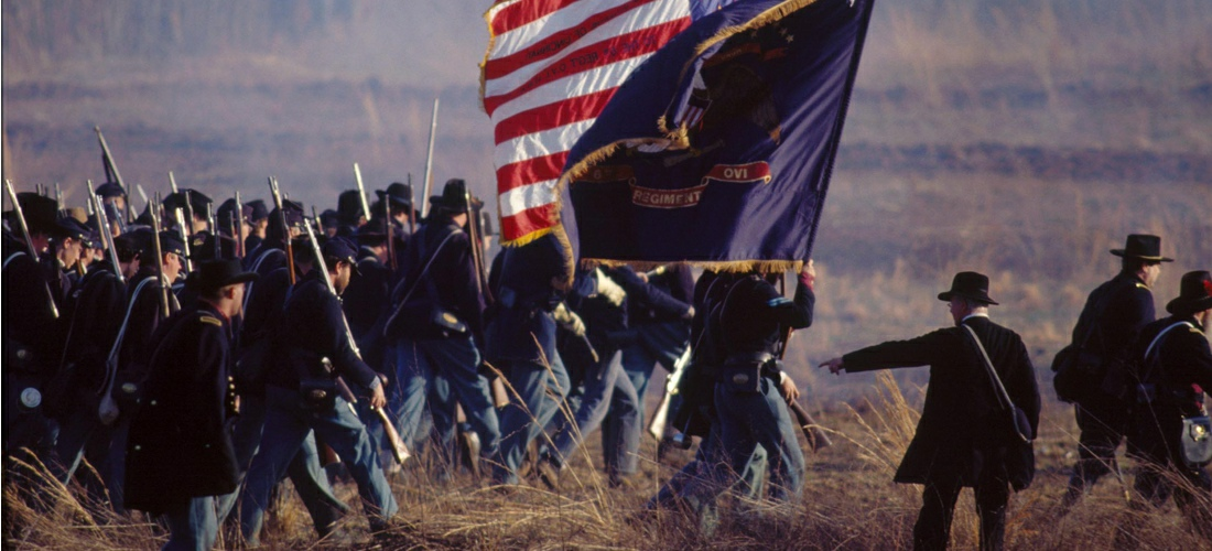Stones River National Battlefield in Tennessee, a 570-acre park along the Stones River in Rutherford County, Tennessee, three miles northwest of Murfreesboro, Tennessee and twenty-eight miles southeast of Nashville - See America - experience our history.
