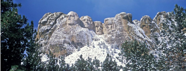 South Dakota - Mount Rushmore in Winter - See America - Visit USA Travel Guide