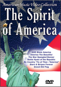 The Spirit of America DVD