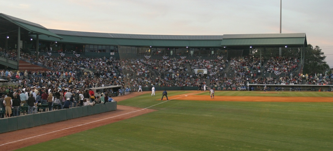 The Myrtle Beach Pelicans are a minor league baseball team in Myrtle Beach, South Carolina. They are a Class A Advanced team in the Carolina League