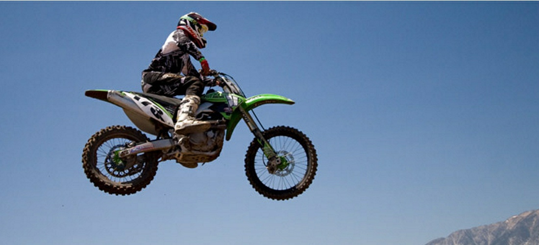 Motorcross is a very popular sport in Nevada