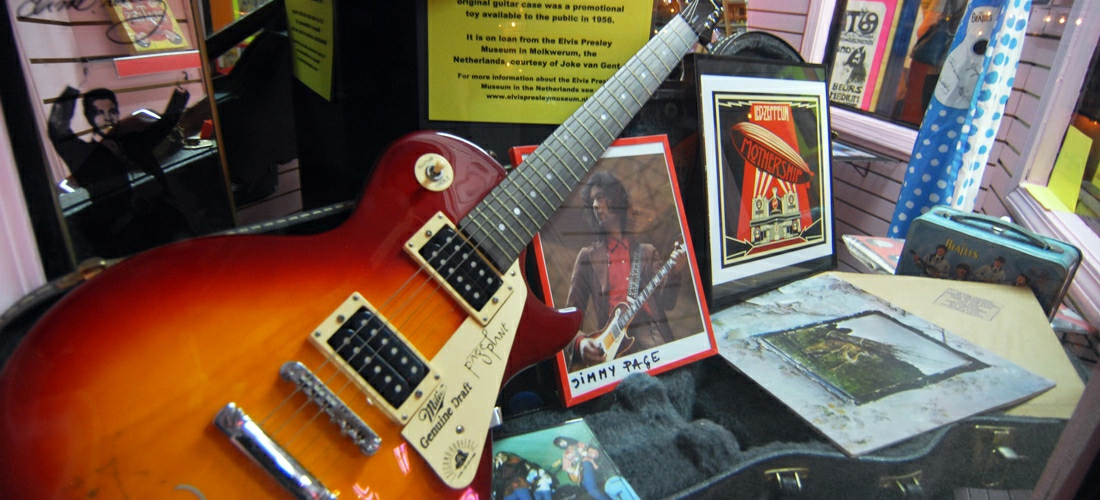 Mississippi rock and blues museum in Clarksdale, Mississippi, at 113 E. 2nd Street, is packed full of music memorabilia from the 1920's through the 1970's.