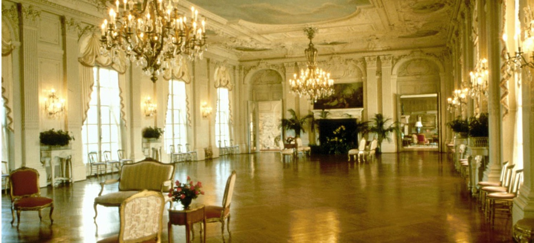 Rosecliff Mansion, built 1898-1902, is one of the Gilded Age mansions of Newport, Rhode Island, now open to the public as a historic house museum. The house has also been known as the Herman Oelrichs House or the J. Edgar Monroe House.