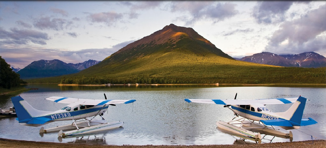 Alaska Travel Guide - grab a float plane to the back country