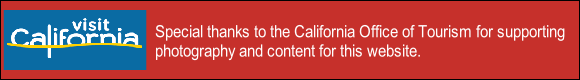 Special thanks to the California Office of Tourism for supporting